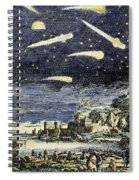 Comets Spiral Notebook