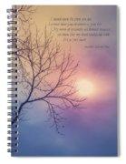 Comfort In Sorrow Spiral Notebook