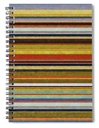 Comfortable Stripes Vl Spiral Notebook