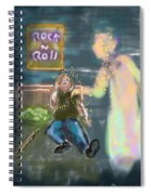 Comforting Angel Spiral Notebook