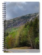 Comin Around The Bend In Campton New Hampshire Spiral Notebook