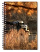 Comin' Round The Mountain Spiral Notebook
