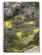 Coming Down The Hill Spiral Notebook