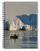 Coming Home - Greenland Spiral Notebook