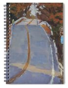 Coming Off Orr's Island - Art By Bill Tomsa Spiral Notebook