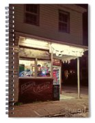 Coming Street Night Life Spiral Notebook