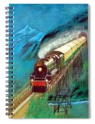 Coming Through The Tunnel Spiral Notebook