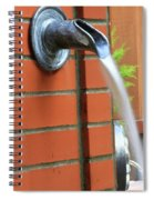 Coming To Drink Spiral Notebook