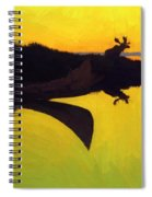 Coming To The Call 1905 Spiral Notebook