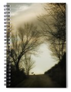 Coming Up The Drive 2 Spiral Notebook