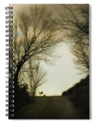 Coming Up The Drive Spiral Notebook