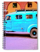 Command Vehicle Spiral Notebook