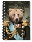 Commander Bear Spiral Notebook