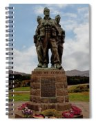 Commando Memorial 2 Spiral Notebook