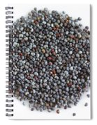 Commercial Poppy Seeds Spiral Notebook