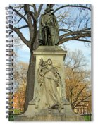 Commodore John Barry Monument Spiral Notebook