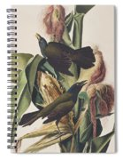 Common Crow Spiral Notebook