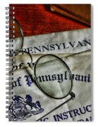 Commonwealth Of Pennsylvania Spiral Notebook