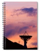 Communication Sunset Spiral Notebook