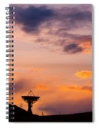 Communications To The Stars Spiral Notebook