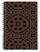 Community Garden Abstract Number One Spiral Notebook