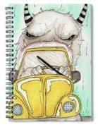 Compact Car Spiral Notebook
