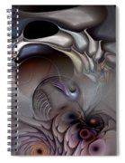 Compartmentalized Delusion Spiral Notebook