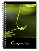 Compassion 2 Spiral Notebook