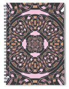 Complex Geometric Abstract Spiral Notebook