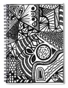 Complex Perception Spiral Notebook