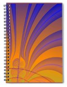 Complimentary Colors Spiral Notebook