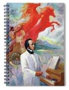 Composer Felix Mendelssohn Spiral Notebook
