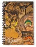 Composition Green Eye Spiral Notebook
