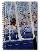 Composition Of Trees Spiral Notebook
