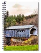 Comstock Bridge Montgomery Spiral Notebook