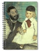 Comte Le Pic And His Sons Spiral Notebook