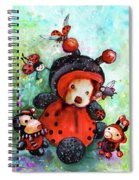 Comtessine Coccinella De Lafontaine Spiral Notebook
