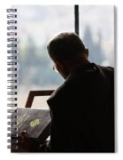 conceptual image of Christianity  Spiral Notebook