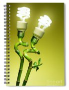 Conceptual Lamps Spiral Notebook