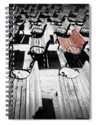 Concert Benches Spiral Notebook