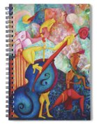 Concerto For Dingo And Tiki God Spiral Notebook