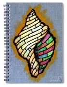 Conch Shell Spiral Notebook