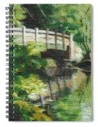 Concord River Bridge Spiral Notebook