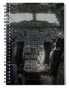 Concorde Cockpit Spiral Notebook