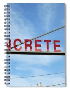 Concrete Company Spiral Notebook