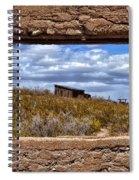Concrete Window Spiral Notebook