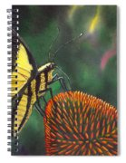 Cone Flower Spiral Notebook