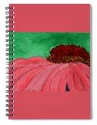 Cone Flower Spiral Notebook