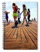 Coney Island Encounters Spiral Notebook