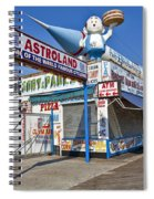 Coney Island Memories 11 Spiral Notebook